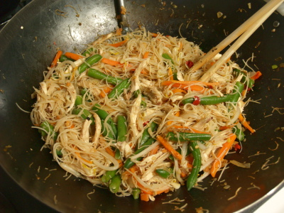 style fried vermicelli xiamen style fried rice vermicelli salad ...