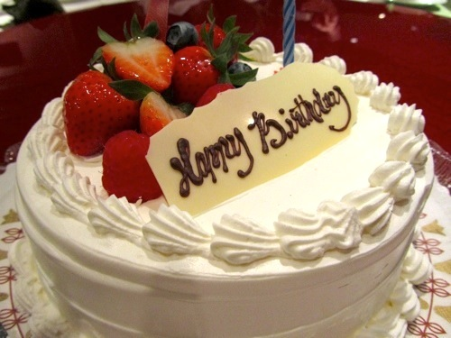 Birthday Cake With Fruit Filling Image Inspiration of Cake and