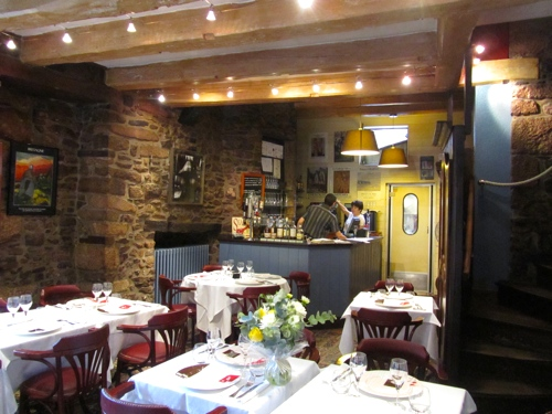 French seafood dinner le cantorbery dinan france - 17th century french cuisine ...