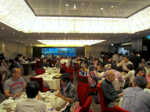 The Set Up Is Similar To One At IFC Mall There Were A Few Dining Rooms And Main Hall Was Large Spacious With An Extravagant Decor